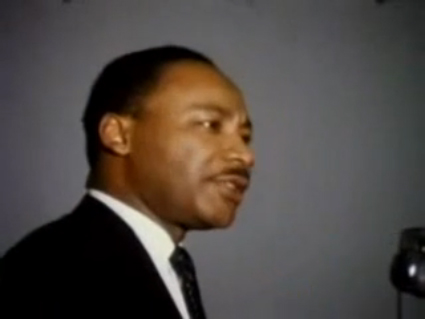 Dr. King sets the record straight on what it means to be Black!