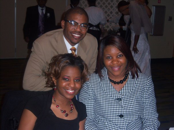 I call them the TWJ Trio... My sisters Kimberly(R) and Dedra(L).